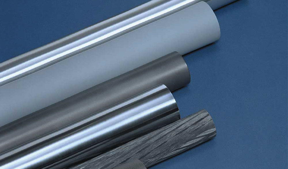 Aluminiums, stål og kulfibervalser